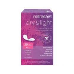 Serviettes Dry & Light pour légère incontinence Natracare