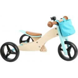Draisienne-Tricycle 2 en 1 Maxi Turquoise