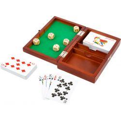 Boîte de Jeux de Cartes et de Dés