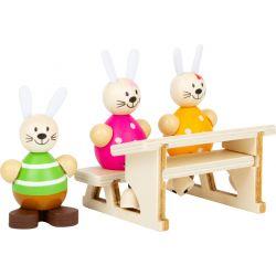 Set de jeu L'école des lapins