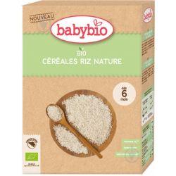 Céréales Riz Nature dès 6 mois DLUO 09/2021