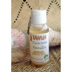 Huile massage bébé vanille dluo dépassée