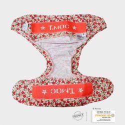 Couche lavable S TMAC BERRIES - 4 à 8 kg - 1 à 8 mois