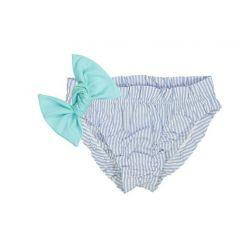 Culotte de bain PILAR Bleu Aqua 4 ans