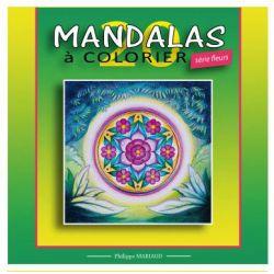 Mandalas a colorier série fleurs