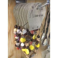 Bracelet graine  - Atelier de Val