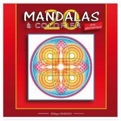 Mandalas a colorier série géométrique