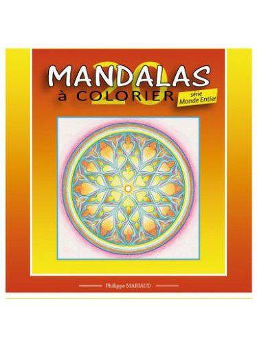 Mandalas a colorier série monde entier
