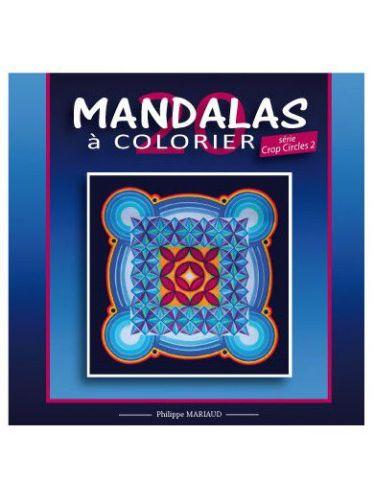 Mandalas a colorier CROP CIRCLE 2