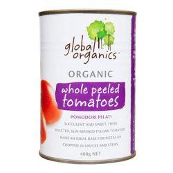 Tomates Entières Pelées Bio (en conserve) 400g