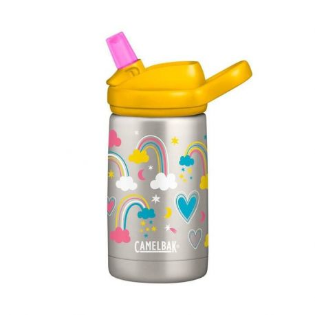 Gourde des petits Sippy isotherme inox Panda 350 ml