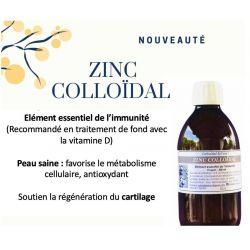 ZINC COLLOIDAL - 15 ppm - 500ml