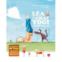 Léa et le chat yogi, un album pour iniitier ses enfants au yoga