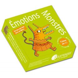 Emotions monstres,le jeu 4+