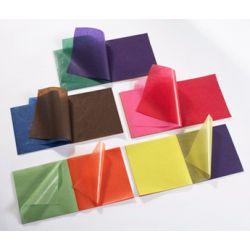 Papier calque couleur 100 feuilles 11 couleurs assorties