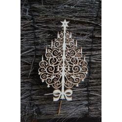 Sapin de Noël bois
