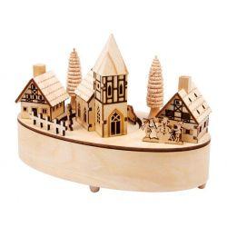 Boîte à musique «Petit village»