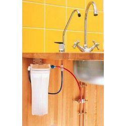 Filtre sous évier cuisine avec kit de robinetterie