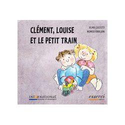 Clément Louise et le petit train à partir de 3 ans