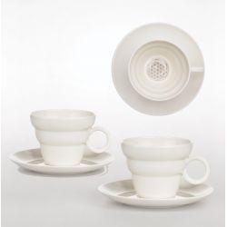 Set de 2 tasses à thé SHINNO Fleur de vie