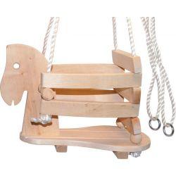 Balançoire avec assise «Poney»