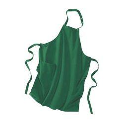 Tablier vert en coton bio