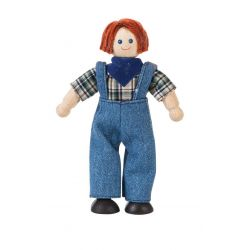 Figurine en bois: le fermier