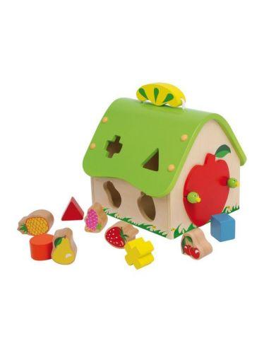 Maison à emboîter «Fruits» 2+