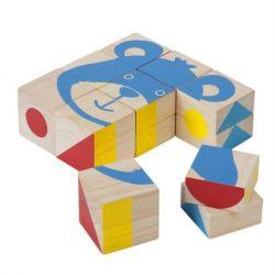 Set de 9 cubes à assembler
