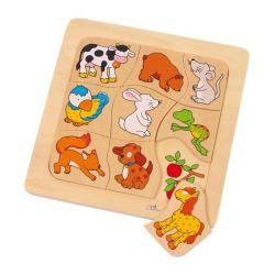 Puzzle :qui mange quoi ?