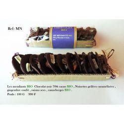 MENDIANTS CHOCOLATS NOIR 100G