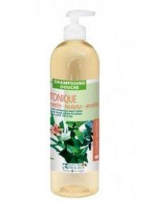 2 en 1 Douche Shampoing tonique Menthe poivrée, verveine, eucalyptus 500ml