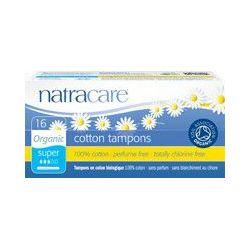 Tampons SUPERS  avec applicateur biologique Natracare