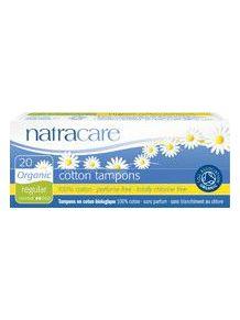 Tampons NORMAL sans applicateur par 20 Natracare