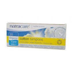 Tampons SUPER sans applicateur par 20 Natracare