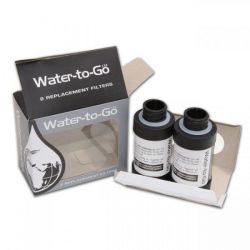 Filtres de rechange pour bouteille 75cl water to go(pack de deux)