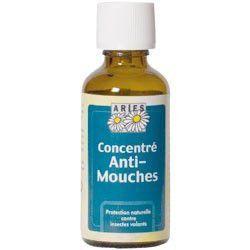 Concentré anti-mouches répulsif naturel